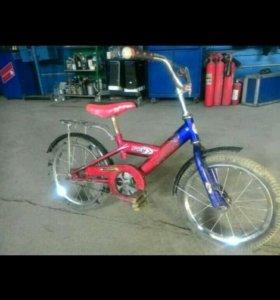 Велосипед детский на 4-6 лет