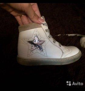 Ботинки в идеальном состоянии