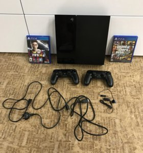 SonyPlaystation 4 500gb GTA 5, fifa 14