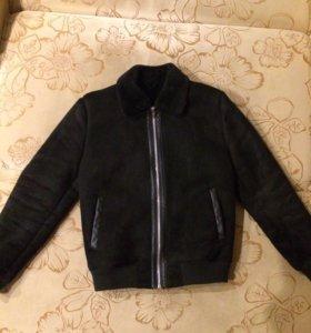 Куртка из замши Zara