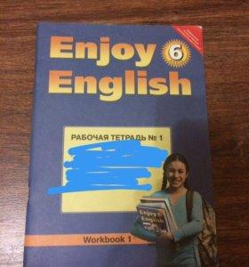 Enjoy English 6 класс не разу не пользовались