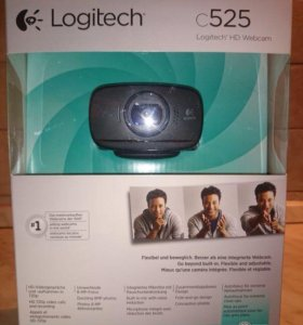 Веб камера Logitech hd webcam c525