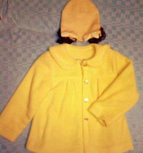 Пальто-пиджак и шапочка