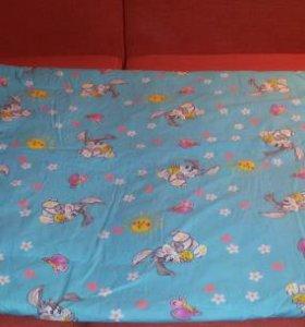 Новое одеяло из овечьей шерсти