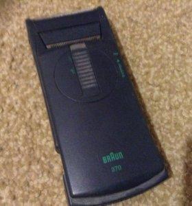 Бритва Braun 370 на батарейках