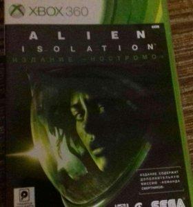 Диск для XBOX 360 (alien isolation)