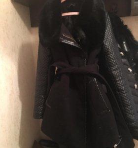 Пальто утепленно