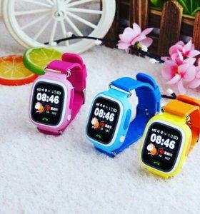 Детские умные часы с GPS трекером
