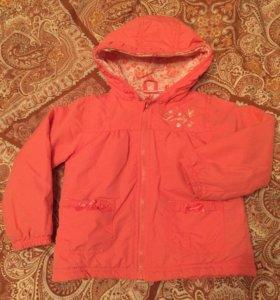 Куртка BabyGo на девочку на 1-2 года