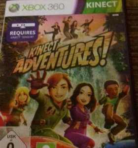 Диск для XBOX 360 KINECT (kinect adventures!)