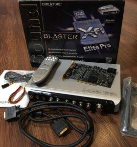 Звуковая карта PCI!!! Creative X-Fi Elite Pro