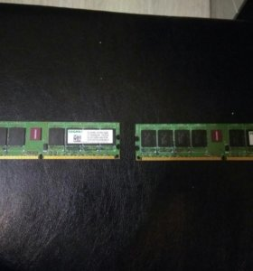 Оперативная память 512 2 шт
