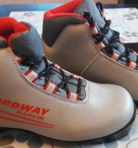 Ботинки лыжные для девочек р.36