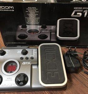 Гитарный процессор Zoom g1x