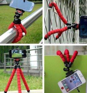 Штатив осьминог гибкий для Камер и смартфонов