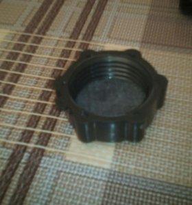 Пробка для алюминиевой канистры с прокладкой,новая
