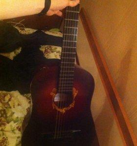 Гитара шестиструнная аккорд