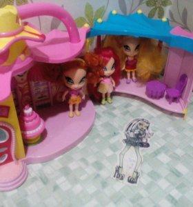 Набор кукол Поп Пикси с домиком