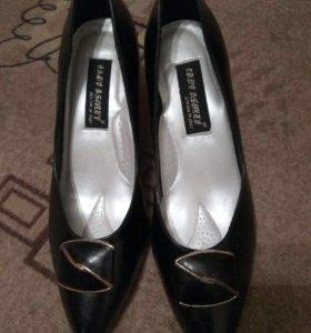 Туфли новые , натуральная кожа