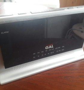 Радио-часы Gal CR-3553