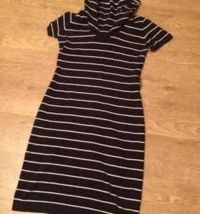 Платье в полоску, 44