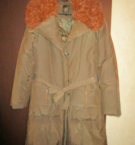Новое зимнее пальто-пуховик 48-50-52 р.