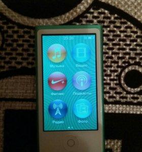 Mp3-плеер ipod nano 7, 16gb (green)