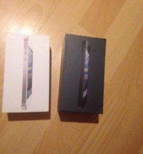 Коробки от 5 Apple Iphone