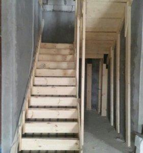 Бетонные лестницы любой сложности  40000т.р