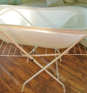 Ванночка со сливом и подставкой