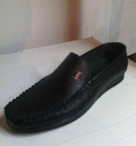 черные кожаные или отмены спаривания обувь