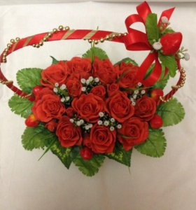 Цветы, подарки ручной работы