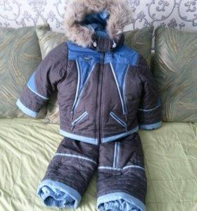 зимний костюм 110р