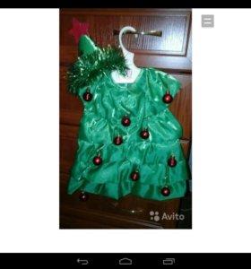 Платье-елочки
