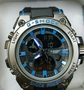 Мужские защищенные спортивные часы G-Shock