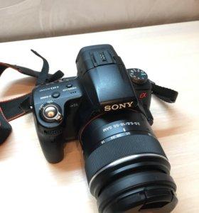 Зеркальный фотоаппарат Sony alpha SLT-A55V