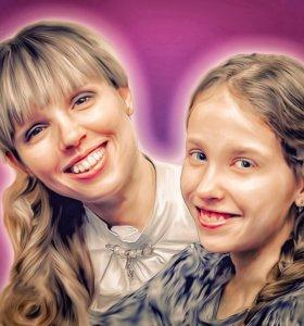 Портрет в стиле Digital Art.