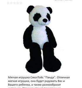 Медведь метровый новый СмолТойс