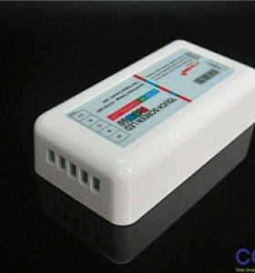 RGBWРадио контроллер с сенсорным пультом