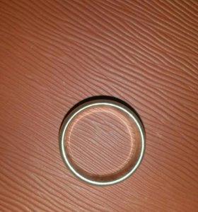Серебряный мужское кольцо