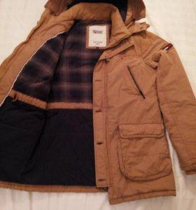 Новая крутая зимняя куртка Tommy Hilfiger Denim L