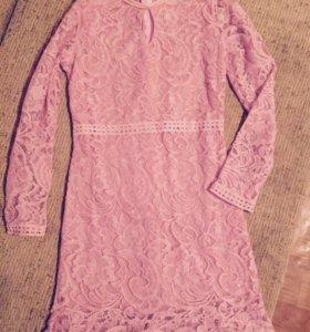 Платье гепюр