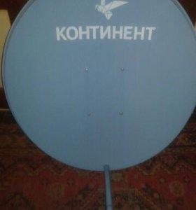 Продам спутниковое тв Континент комплект.
