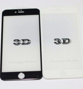 3D стекла для iPhone 6 plus
