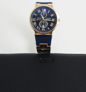 Часы Ulysse Nardin и Портмоне BOSS