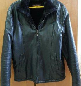 Продаётся кожаная куртка