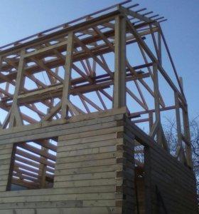 Монтаж домов,бысто возводимых конструкции