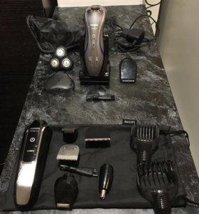 Электробритва/триммер для стрижки бороды