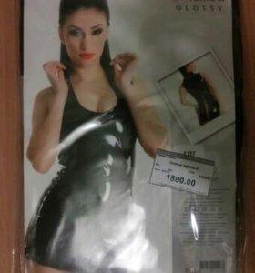 Латексное платье новое
