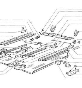 Рем части кузова ВАЗ все модели